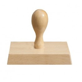 Stempel Ręczny Drewniany 95X60mm