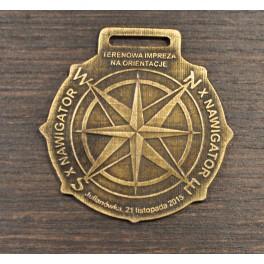 Medale bieg na orientację