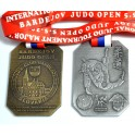 Medale odlewane Judo