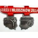 Medale odlewane Karate