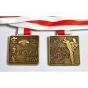 Medale odlewane Karate Shotokan