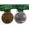 Medale odlewane Jujitsu