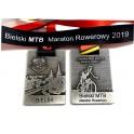 Medale odlewane zawody rowerowe