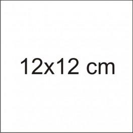 Tabliczka 12x12cm z grawerem