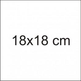 Tabliczka 18x18cm z grawerem