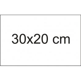 Tablica informacyjna z grawerem 30x20cm