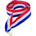 Wstążka do medalu R/W/BL