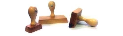 Pieczątki drewniane
