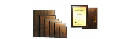 Dyplomy z grawerem