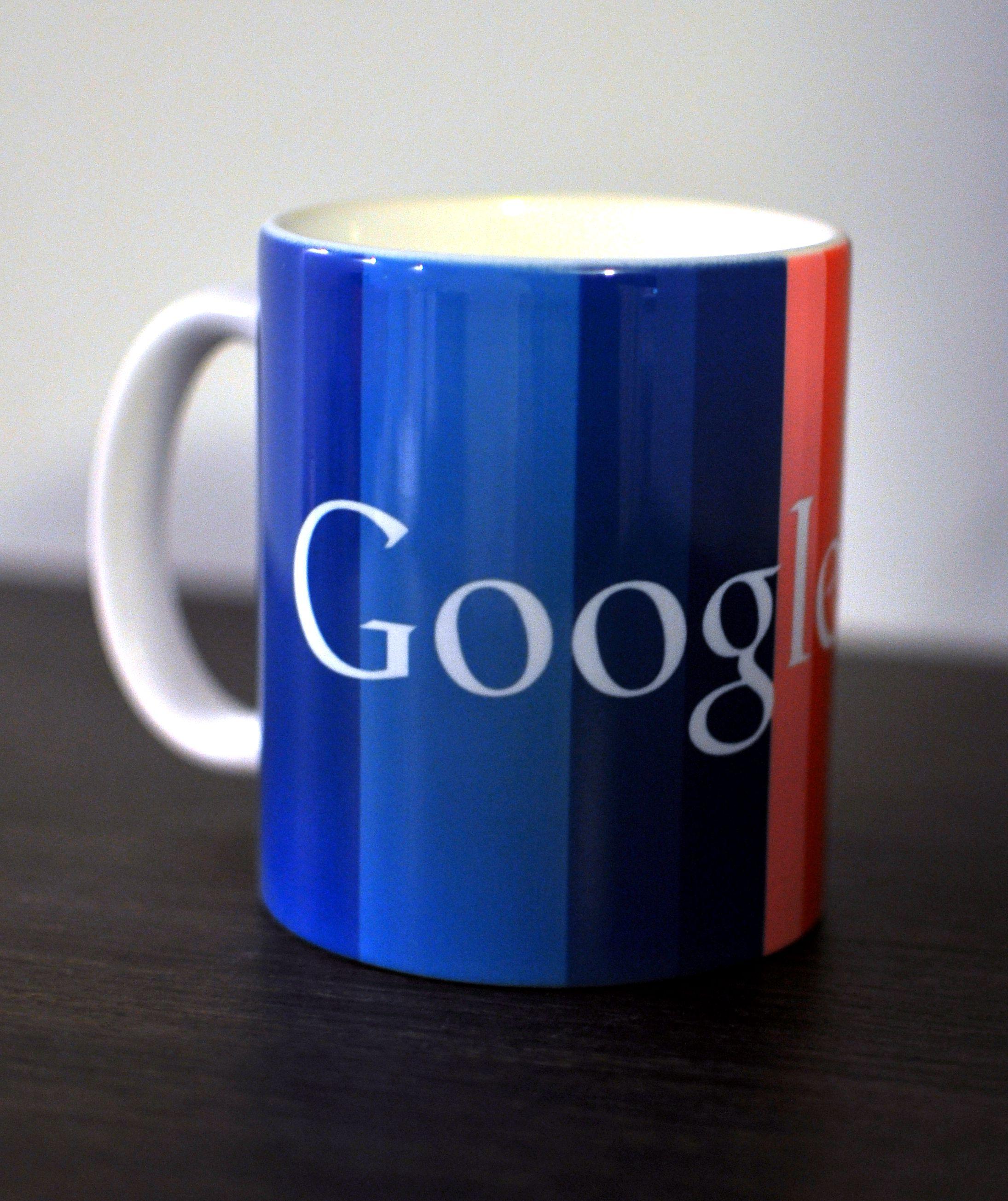 Kubek z nadrukiem Google