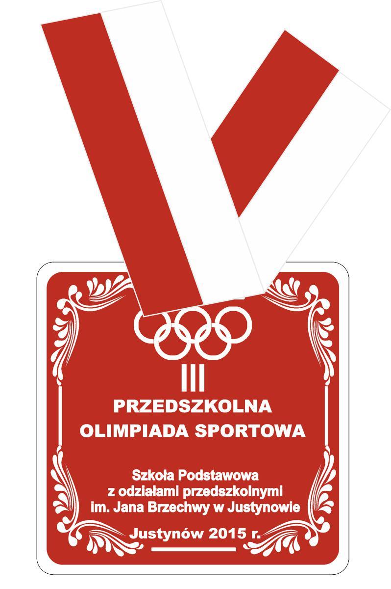 Medale dla dzieci z przedszkola