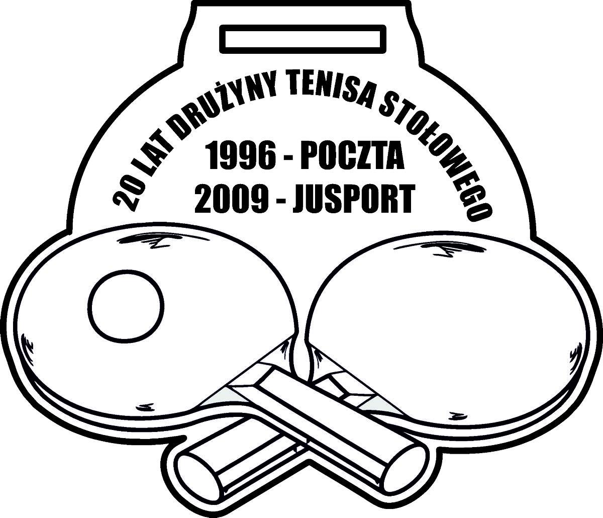 Medale dla dzieci tenis stołowy
